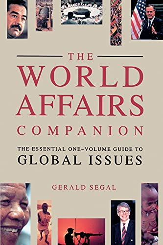 9780671741563: World Affairs Companion (Paper)