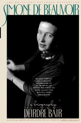 9780671741808: Simone De Beauvoir: A Biography