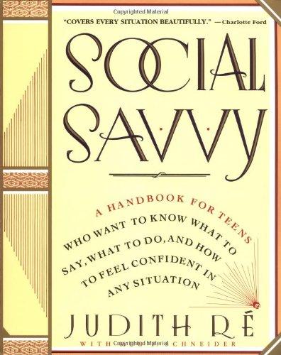 Social Savvy: Re, Judith