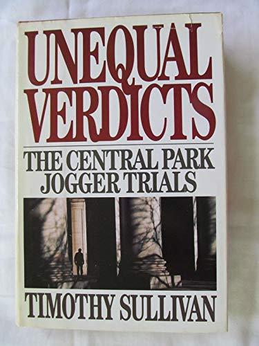 9780671742379: Unequal Verdicts: The Central Park Jogger Trials