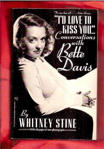 I'd Love to Kiss You.: R.L. Stine