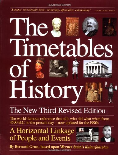 9780671742713: The Timetables of History: A Horizontal Linkage of People and Events