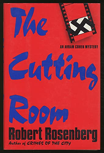 9780671743444: The CUTTING ROOM: AN AVRAM COHEN MYSTERY