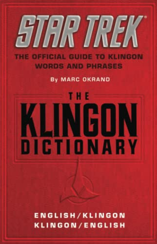9780671745592: The Klingon Dictionary: English/Klingon Klingon/English