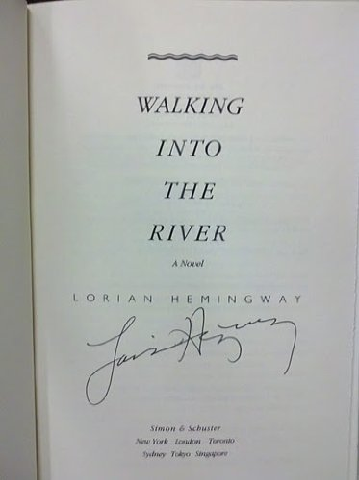9780671746421: Walking into the River: A Novel
