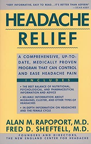 Headache Relief: Alan Rapoport; Fred