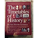 9780671749194: Timetables of History, New Third Rev Ed:Horizontal Linkage of People & Events