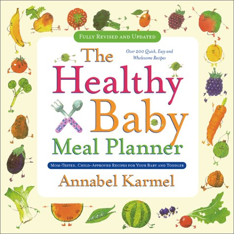 9780671750190: Healthy Baby Meal Planner