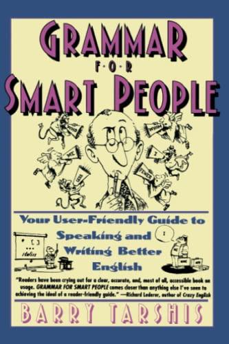 9780671750442: Grammar for Smart People