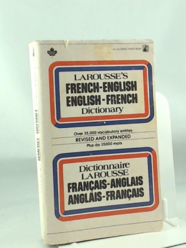 Latousse's French-English / English-French Dictionary: Unknown, Larousse