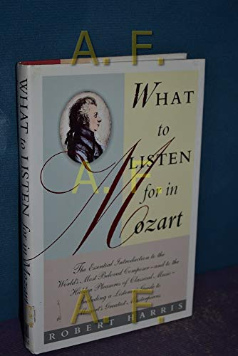 9780671750923: What to Listen for in Mozart