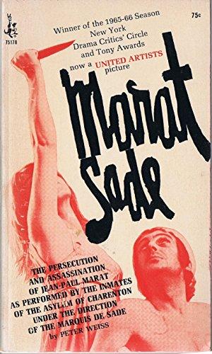 9780671751784: Marat Sade