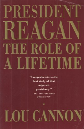 9780671755768: President Reagan: The Role of a Lifetime