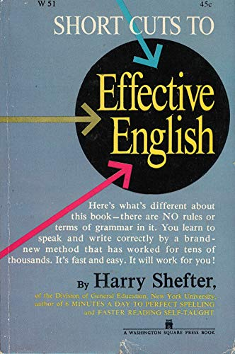 9780671756024: Short Cuts to Effective English