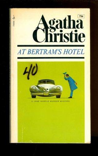 9780671756581: At Bertram's Hotel, a Jane Marple Murder Mystery