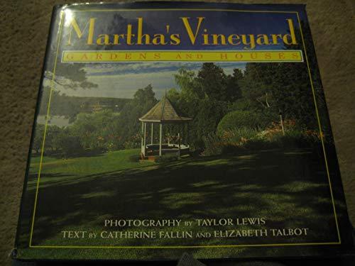 9780671758585: Martha's Vineyard: Gardens and houses