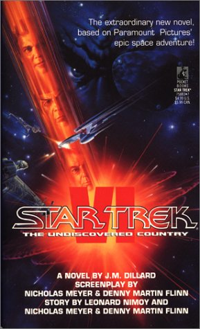 Star Trek VI The Undiscovered Country (Star Trek) (0671758837) by J.M. Dillard