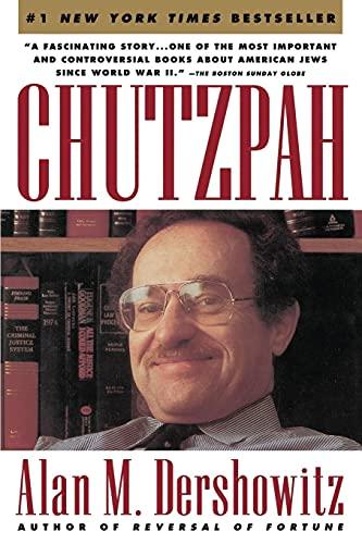 9780671760892: Chutzpah