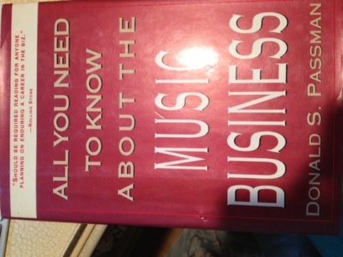 9780671761394: All you need to know about the music business