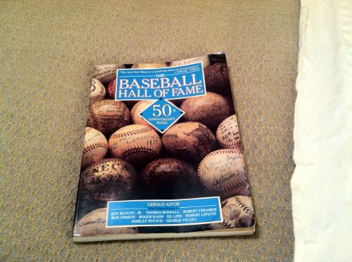 9780671761707: The Baseball Hall of Fame 50th Anniversary Book
