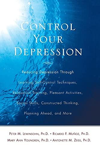 9780671762421: Control Your Depression, Rev'd Ed