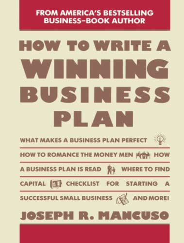 9780671763589: How to Write a Winning Business Plan