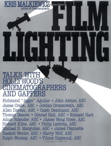 9780671766344: Film Lighting: Talks with Hollywood's Cinematographers and Gaffers