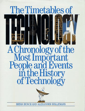 9780671769185: The Timetables of Technology: A Chronology of the Most Important People and Events in the History of Technology