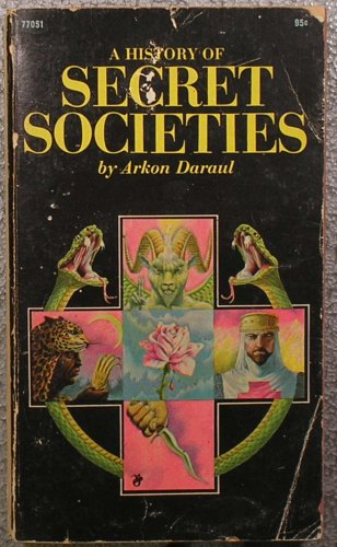 9780671770518: A History of Secret Societies