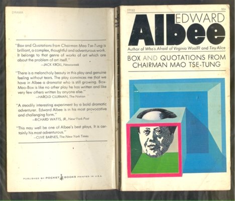 Box and Quotations from Chairman Mao Tse-tung: Edward Albee