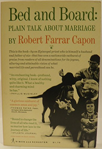 9780671771645: Bed and Board: Plain Talk About Marriage