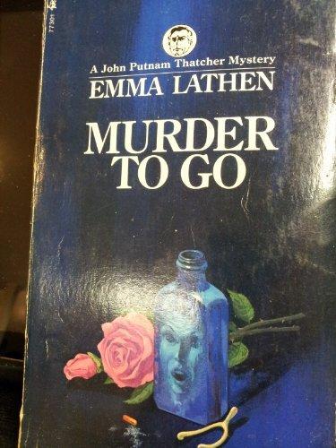 Murder to Go: Emma Lathen, Martha