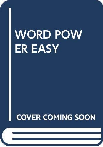 9780671773588: Word Power Made Easy