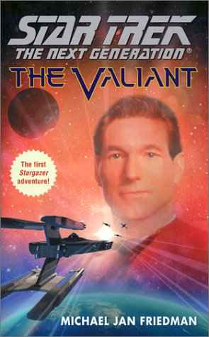 9780671775230: The Valiant (Star Trek The Next Generation)