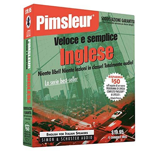 9780671776404: Pimsleur Veloce E Semplice Inglese: English for Italian Speakers