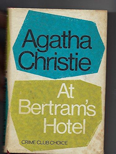 9780671777029: Title: At Bertrams Hotel A Jane Marple Murder Mystery