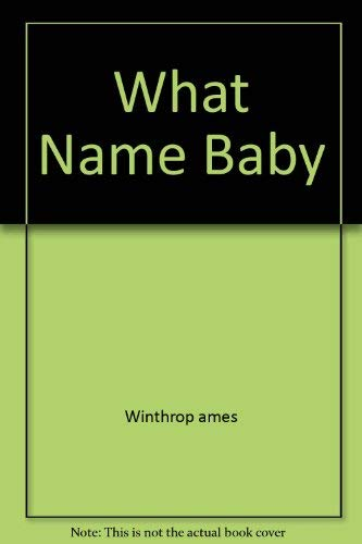 9780671777593: What Shall We Name the Baby?