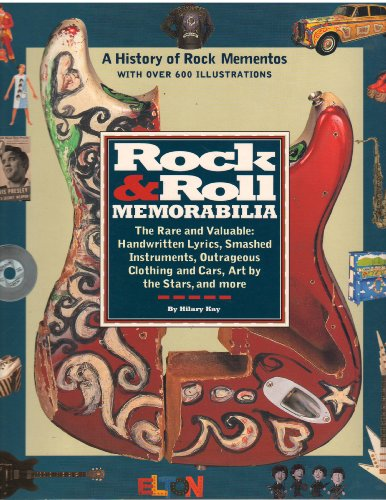 9780671779313: Rock & Roll Memorabilia: A History of Rock Mementos With over 600 Illustrations