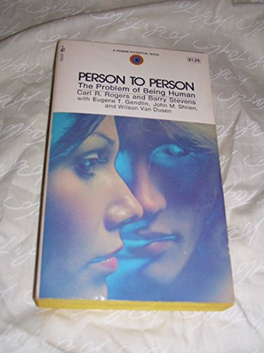 9780671780579: Person to Person: The Problem of Being Human
