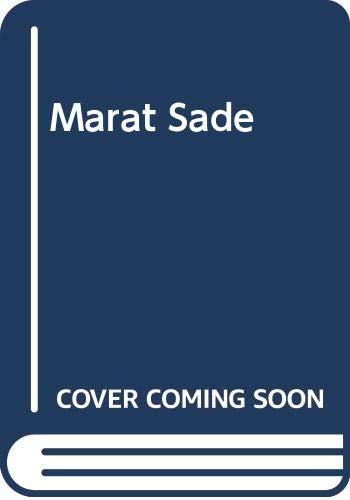 9780671780999: Marat Sade