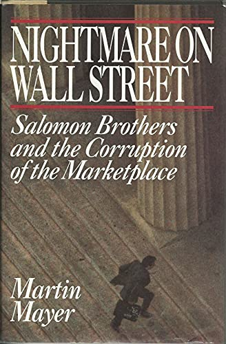 9780671781873: Nightmare on Wall Street: Salomon Brothers and the Corruption of the Marketplace