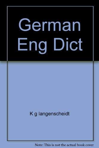 9780671783952: German Eng Dict