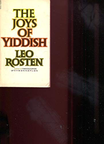 9780671785055: The Joys of Yiddish