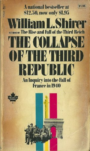 9780671785093: Collapse of the Third Republic