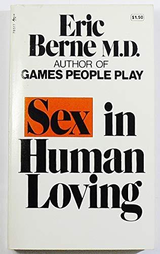 9780671785178: Sex in Human Loving