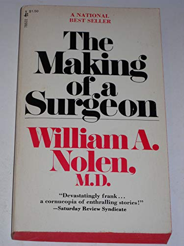 9780671785222: Making Of A Surgeon