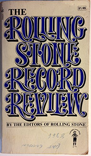 9780671785314: The Rolling Stone Record Review