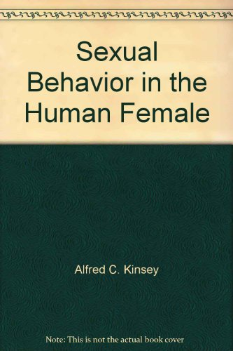 9780671786151: Sexual Behavior in the Human Female