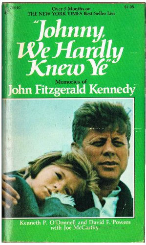 9780671786403: Johnny We Hardly Knew Ye F Kennedy