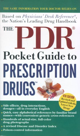 9780671786434: The PDR Pocket Guide to Prescription Drugs, 4th Edition